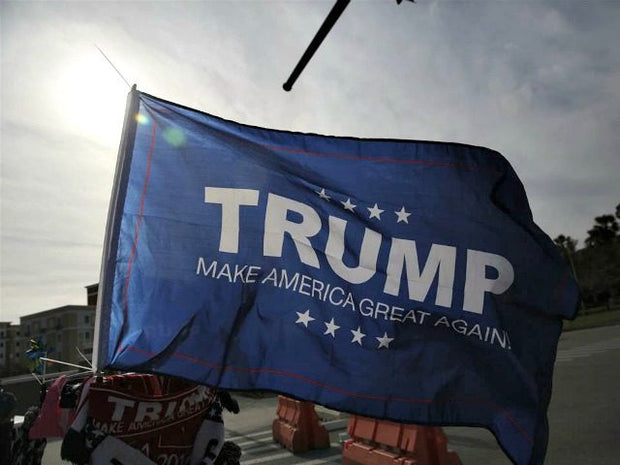 FREE - TRUMP Make America Great Again Flag - 3 ft x 5 ft