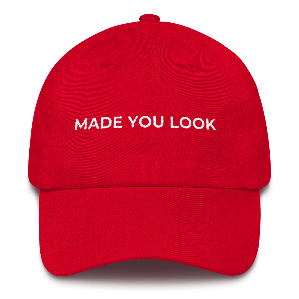 MADE YOU LOOK Cap