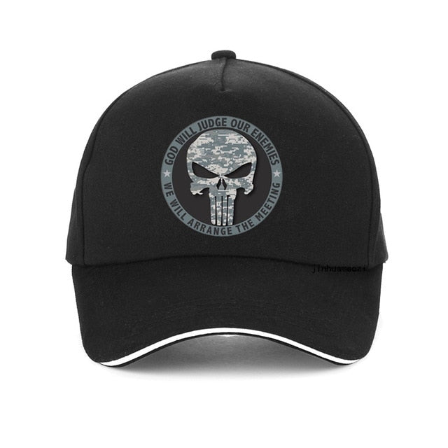 God Will Judge - Punisher Cap