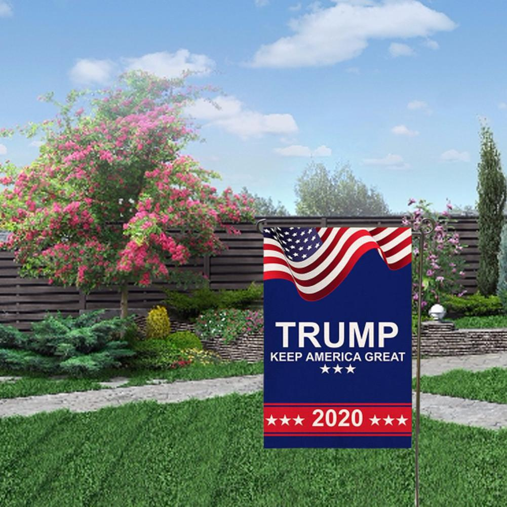 FREE Double Sided Trump 2020 Garden Flag