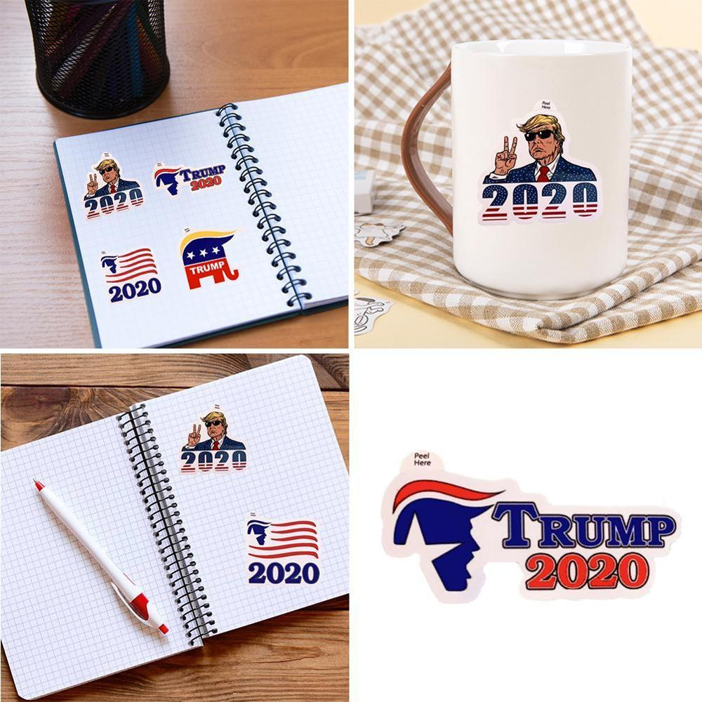 Trump 2020 Decal Stickers - 4 Pieces