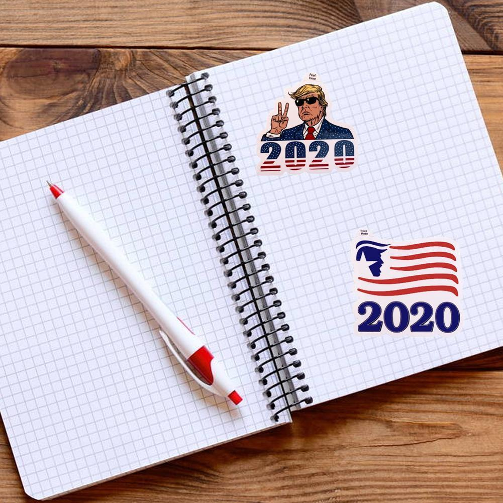 FREE Trump 2020 Decal Stickers - 4 Pieces