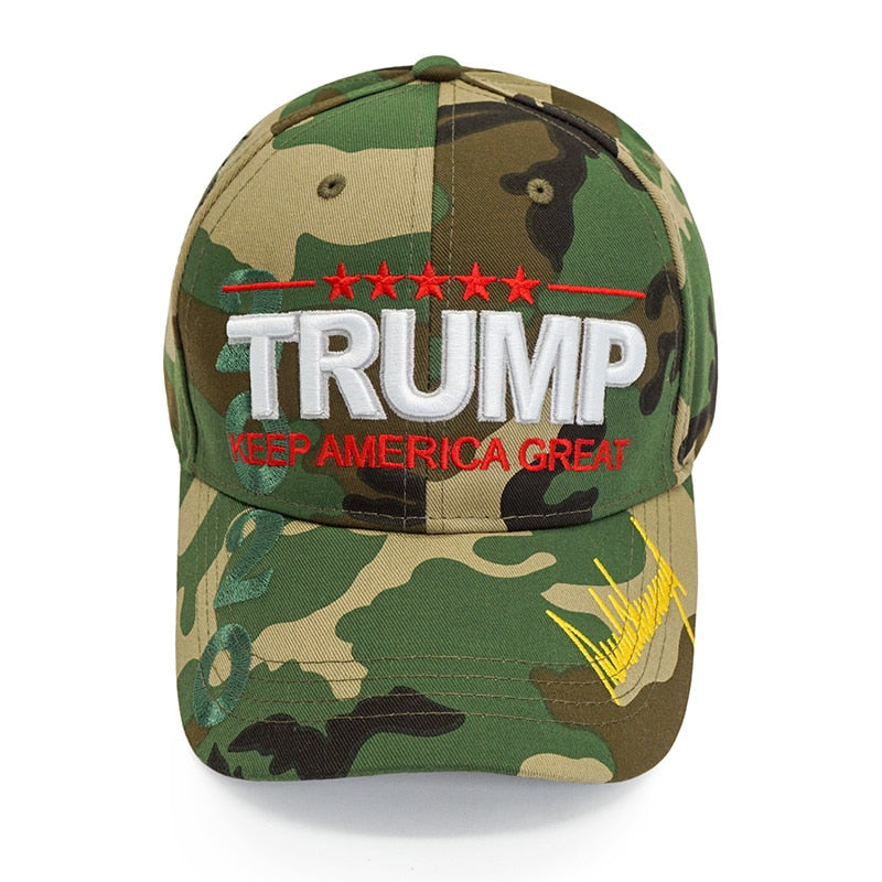 Trump 2020 Keep America Great Camo Cap