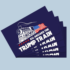FREE Trump 2020 Stickers - Pack of 5