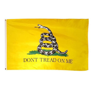 "Gadsden ""Don't Tread on Me"" Flag - 3 x 5 Feet"