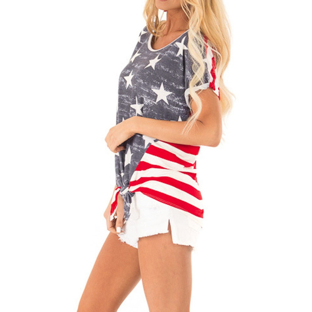Stars & Stripes Casual Top