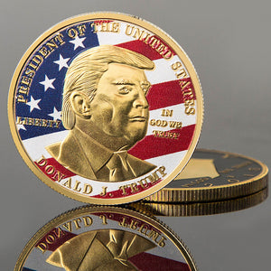 FREE Donald Trump Commemorative Coin