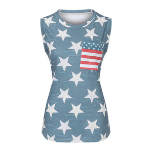 USA Stars and Stripes Tank Top