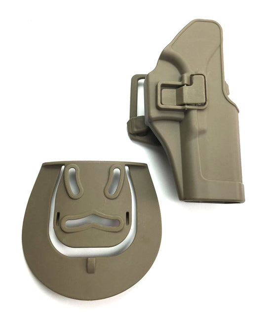Tactical Right Hand Quick Draw Holster - Glock  17, 18, 19, 23, 32