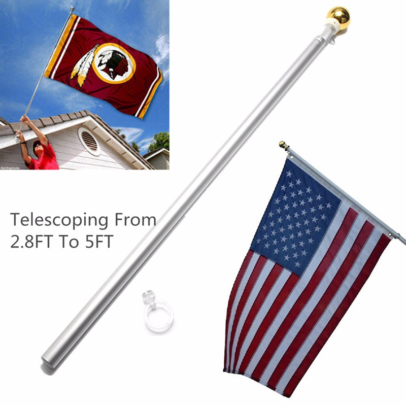 Flag Pole: Telescoping - 2.8 ft - 5 ft