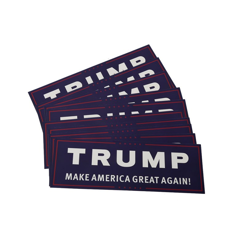 FREE Trump Make America Great Again Bumper Stickers! - PACK OF 10