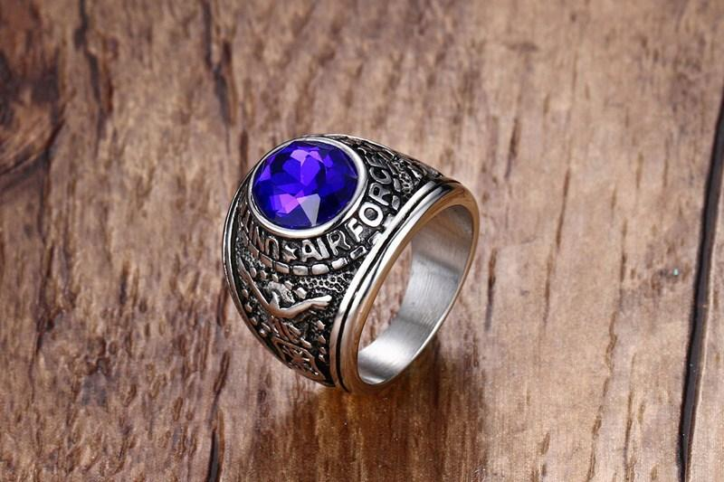 Air Force Military Ring