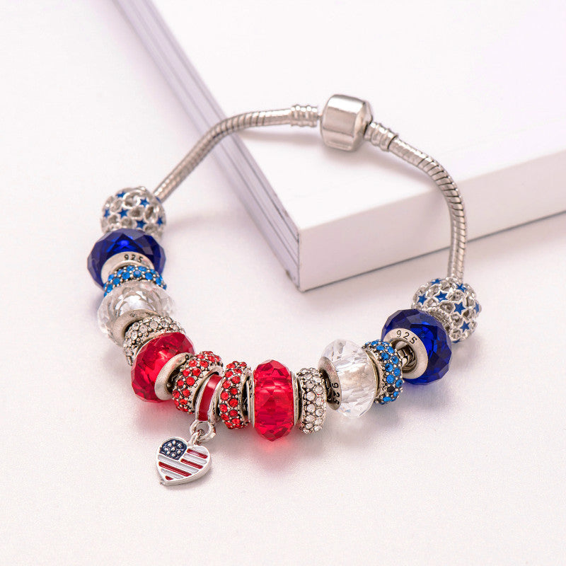 USA Red White & Blue - Bracelet