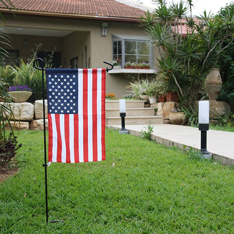 Garden Flag Stand (Wrought Iron)