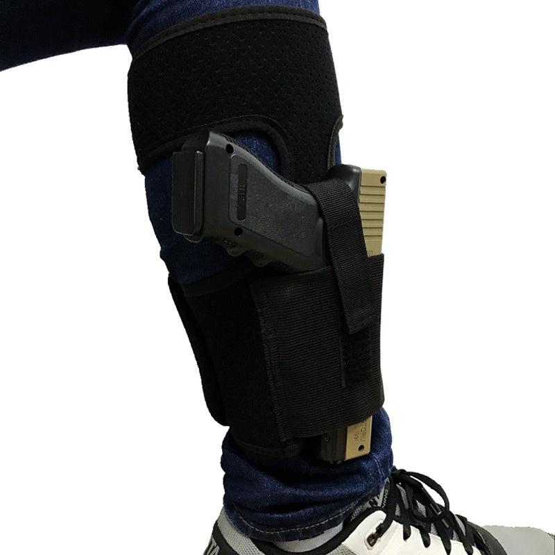 Ankle Holster with Calf Strap - Concealed and Padded
