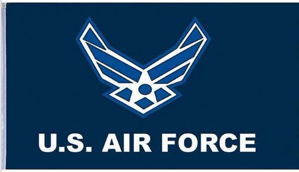 US Air Force Eagle Flag - 3 ft x 5 ft