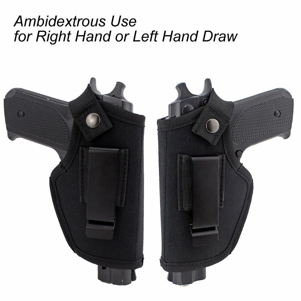 Tactical Holster - Ambidextrous and Versatile (Small/Medium/Large Handguns)
