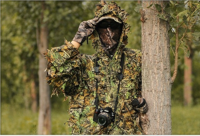 "Hunting Ghillie Suit  - 3D - 45"" x 53"""