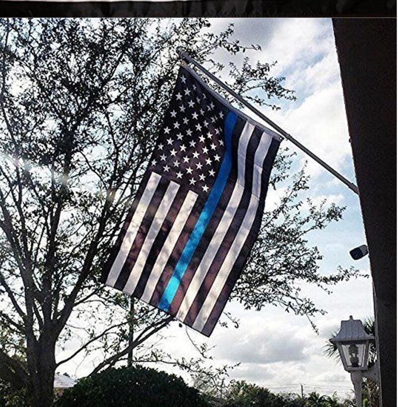 FREE Thin Blue Line Flags - Police Flags - 3 ft x 5 ft