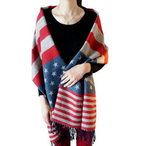 USA Flag Shawl