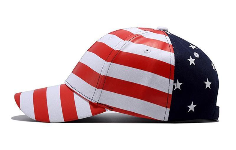 USA Stars and Stripes Cap