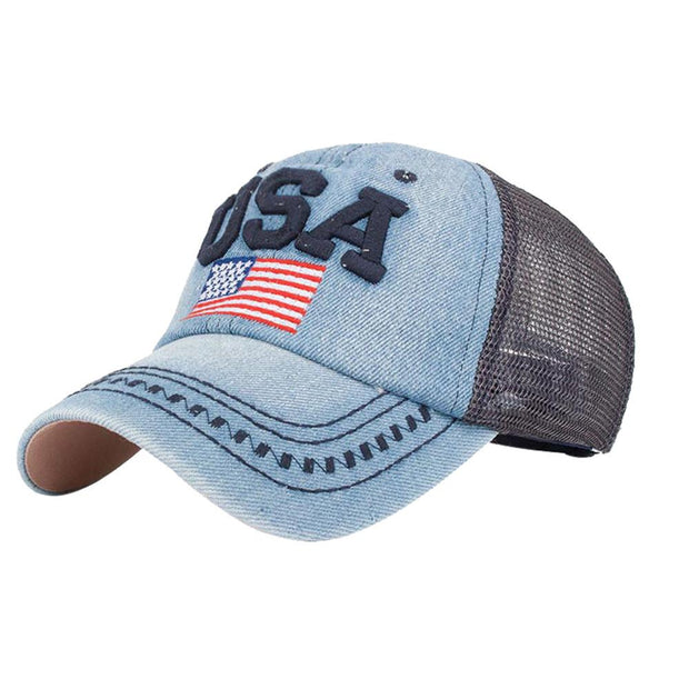 Denim USA Caps - Mesh