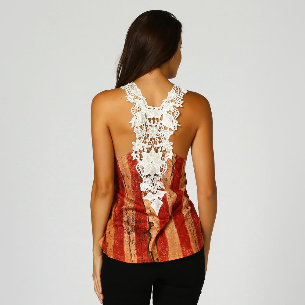 Rustic USA - Patterned & Sleeveless