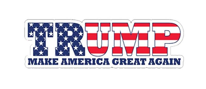Trump USA MAGA Bumper Sticker