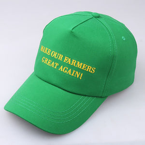 Make Our Farmers Great Again Caps