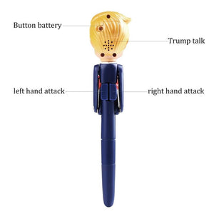 FREE Trump Talking and Boxing Pen