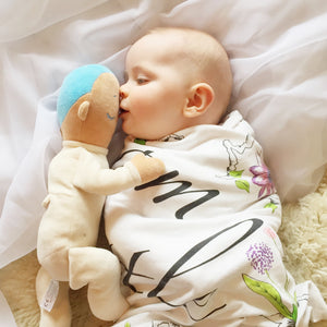 Organic baby toys, Organic Baby, Natural, Eco, nz made, nz, nuzzle baby, organic soft book, organic cuddle toy
