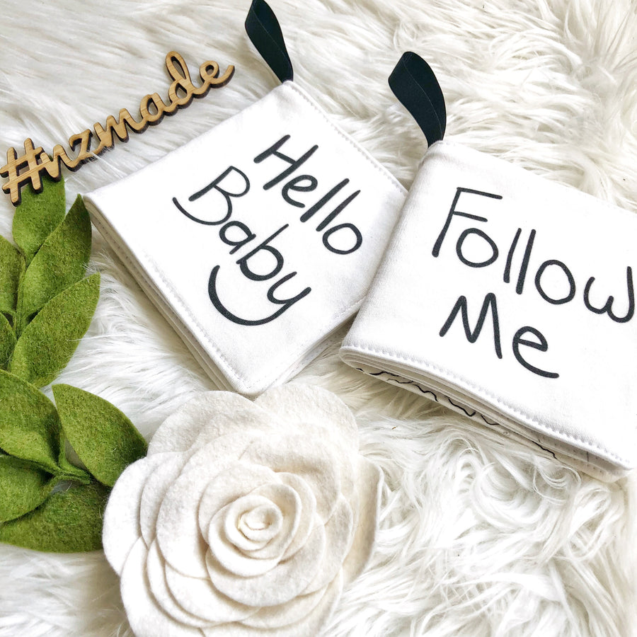 Follow Me soft baby book