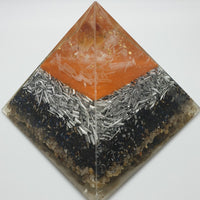 Medium Citrine Orgone Crystal Pyramid