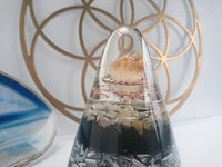 Medium Citrine Orgone Crystal Art Dome