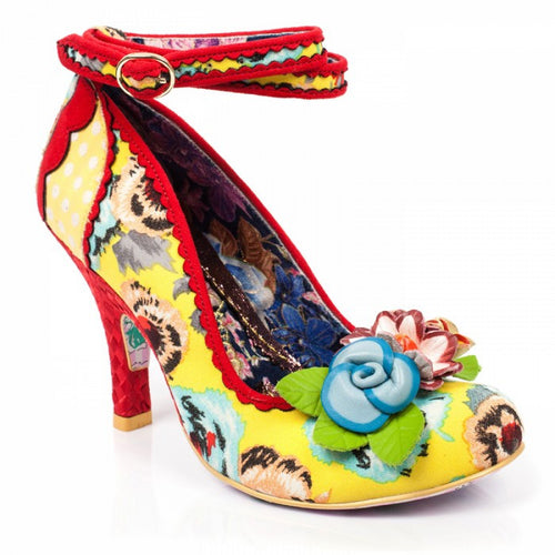 Irregular Choice Day Dreamer - Yellow Floral
