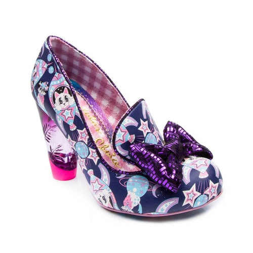 Irregular Choice Oz Shoes - Blue/Purple