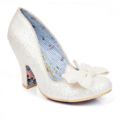 Irregular Choice Nick of Time Shoes - White