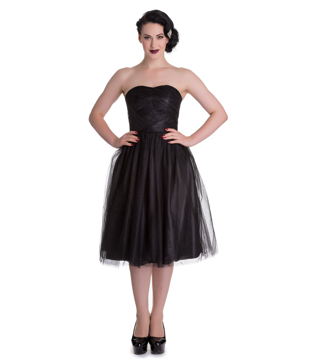 Hell Bunny Tamara Dress - Black