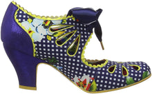 Irregular Choice Sugar Plum Shoes - Blue