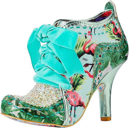 Irregular Choice Abigail's Party Shoes - Green