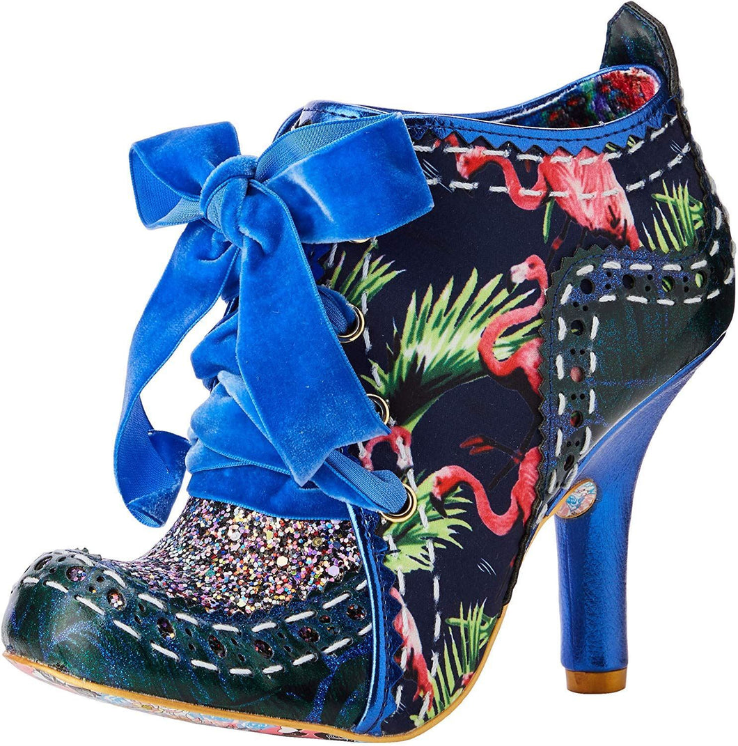 Irregular Choice Abigail's Party Shoes - Blue