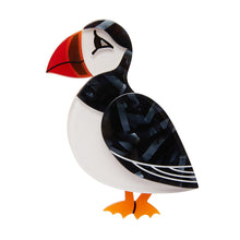 Erstwilder Fan Favourites Piccolo Puffin Brooch