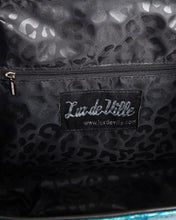 Lux de Ville High Roller Handbag - Black Matte with Endless Sea Sparkle