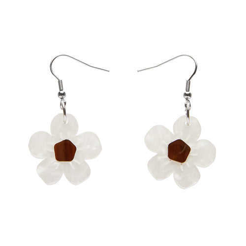Erstwilder Floral Affair Sweet Like Honey Drop Earrings