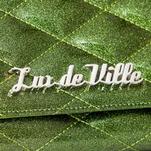 Lux de Ville Route 66 Wallet - Martini Green Sparkle