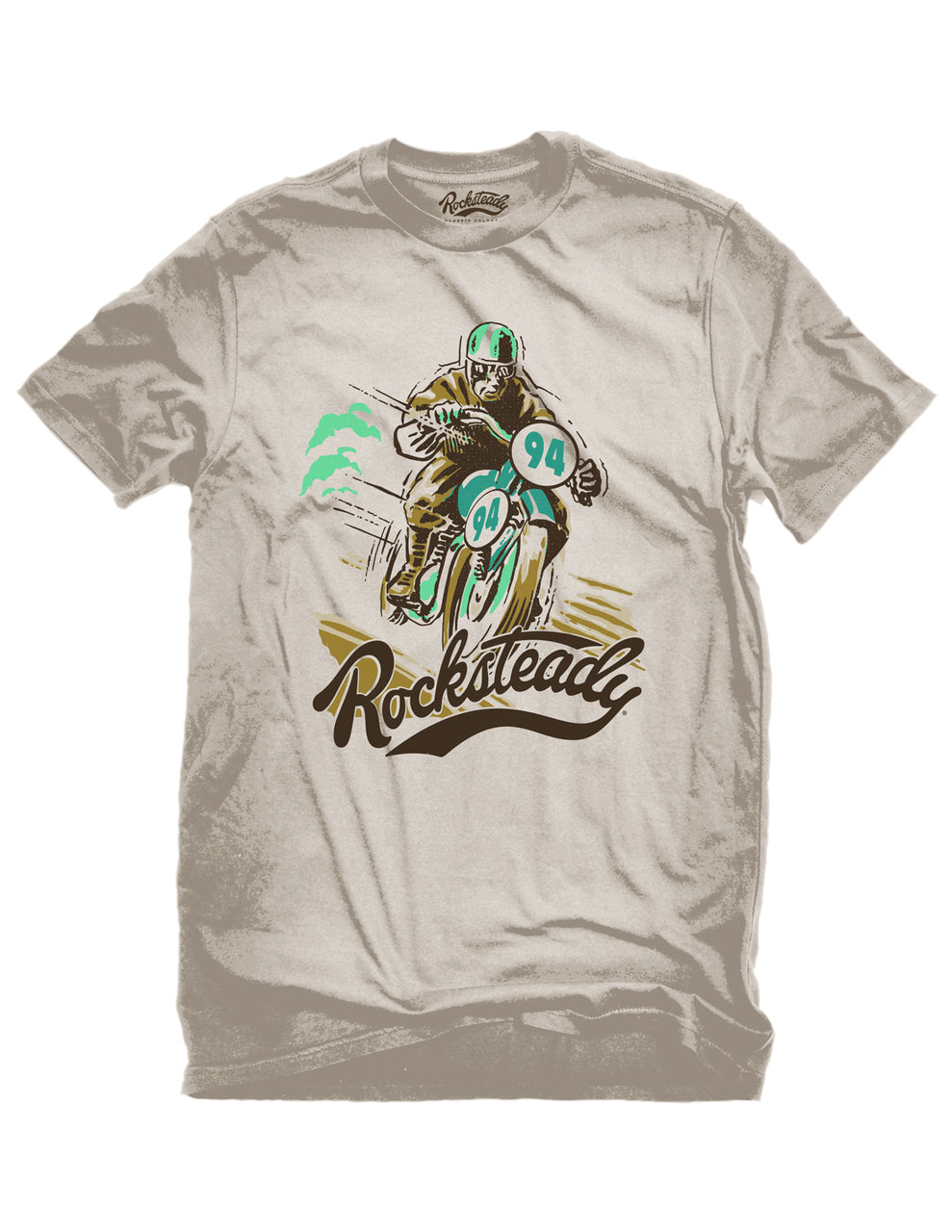 Steady Rocksteady Solo Racer Mens Tee