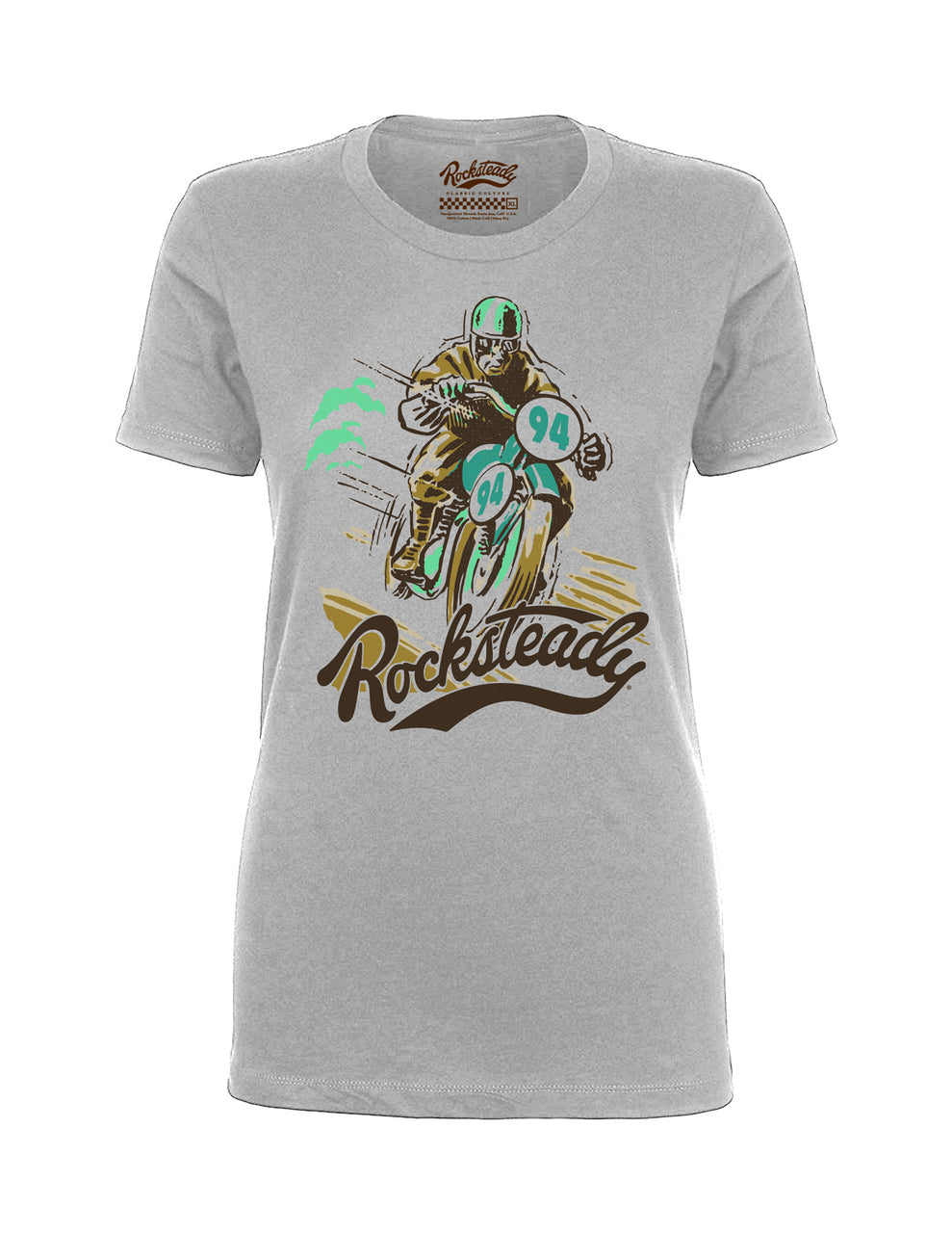 Steady Rocksteady Solo Racer Ladies Tee
