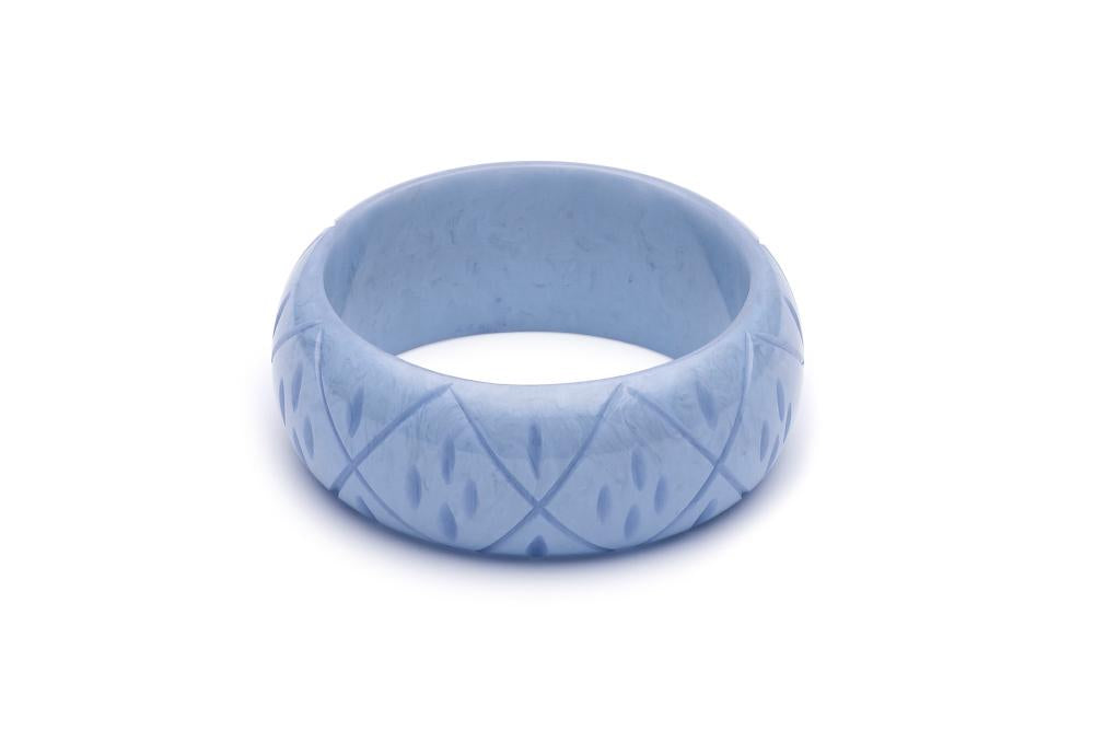 Splendette Wide Bluebell Fakelite Bangle