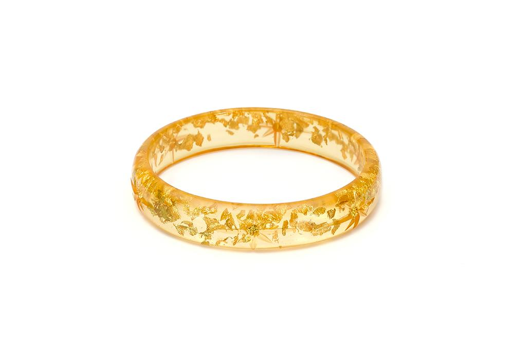 Splendette Midi Gold Foil Starburst Bangle