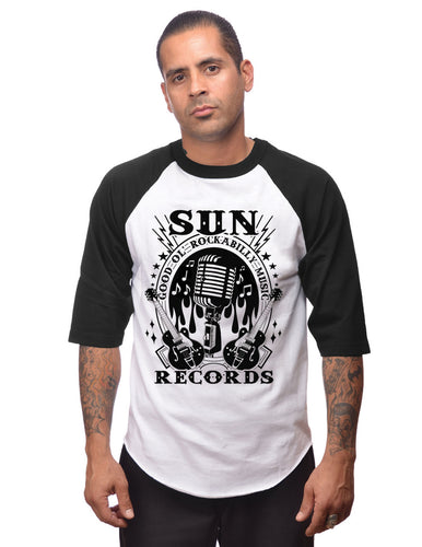 Steady Clothing Sun Records Rockabilly Music Raglan